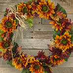 Autumn Silk Wreath Workshop