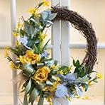 Spring Silk Wreath Workshop