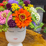 Celfie Vase Arrangement Workshop - Michigan flowers!