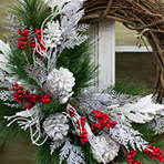 Wreath Making Class at the Royal Park Hotel - Winter Option