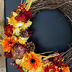 Wreath Making Class at the Royal Park Hotel - Autumn Option