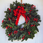 Fresh Christmas Wreath Workshop