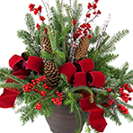 Christmas Porch Pot 2pm Workshop *SOLD OUT* see 11am time