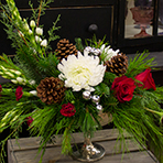 Christmas Pedestal Centerpiece Workshop 2pm