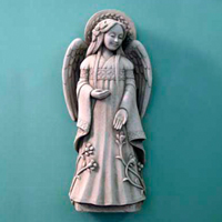 Carruth Angel of Hope #1171035A Viviano Flower Shop Carruth  Studio angel of hope statue