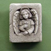 Carruth Mini Angel #1175016A Viviano Flower Shop Carruth  mini angel sculpture for home and  garden