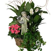 GH Angel Birdfeeder Garden  #152619W Viviano