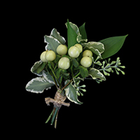 Glow Boutonniere #17BOUT409 Viviano Flower Shop prom homecoming design bouquette style