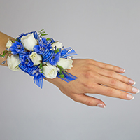 Raindrops Corsage #17COR396 Viviano homecoming prom & special event flowers