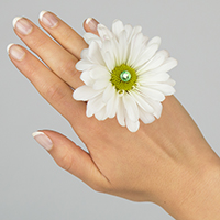 Blossom Ring #17FR05 Viviano daisy for prom homecoming and special events