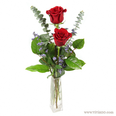 rose bud vase choice of color from viviano flower shop detroit mi florist. Black Bedroom Furniture Sets. Home Design Ideas