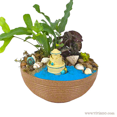Beach Dreams Mini Fairy Garden