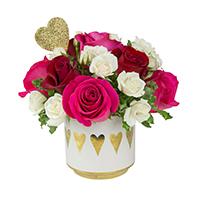 Heart to Heart roses #30219 Viviano