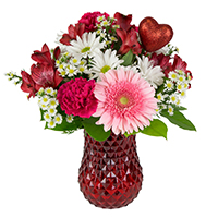 Ever After #30719 Viviano Valentine's floral  arrangement