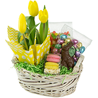 Easter Treats Basket #32619  Viviano