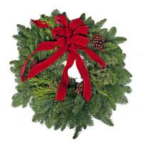 Manager's Special Wreath #332 Viviano evergreen Christmas holiday outdoor decor