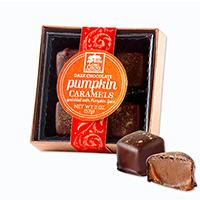 Dark Choc Pumpkin Caramels #48507013 Viviano