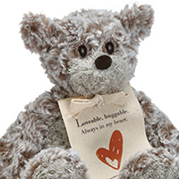 Mini Giving Bear - Love #5004700711 Viviano Flower Shop comforting plush teddy gift