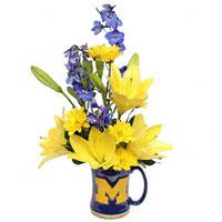 Go Blue! - flowers #54211F Viviano