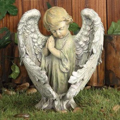 angel garden. Baby Angel Garden Statue