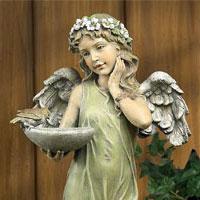 Angel Birdfeeder w/Basin  #73619026 Viviano