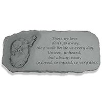Memorial Bench Those We Love #807372 Viviano weatherproof garden gift