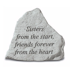 Garden Stone Sisters #807742 Viviano weatherproof keepsake gift