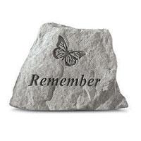 Garden Stone - Remember #807785 Viviano keepsake sympathy or memorial gift