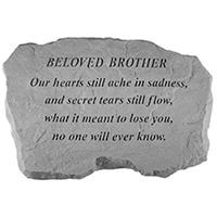 Garden Stone Beloved Brother #807992 Viviano
