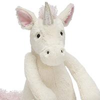Bashful Unicorn #813BAS3UUS Viviano