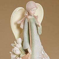 Foundations Friend Angel #8504014324 Viviano Flower Shop collectible by artist Karen Hahn