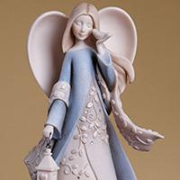 Foundations Sister Angel #8504014326 Viviano Flower Shop collectible by artist Karen Hahn