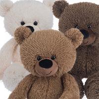 Wooly Bear #852H13901 Viviano Flower Shop small soft plush bear gift