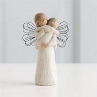 #91426084 Angel's Embrace Viviano keepsake sculpture by artist Susan Lordi