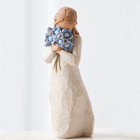 Willow Tree Forget Me Not #91426454 Viviano