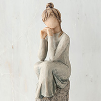 Willow Tree Patience #91427537 Viviano sculpture by Susan Lordi