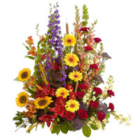 Garden Traditions #91606 Viviano Flower Shop traditional sympathy and funeral arrangement