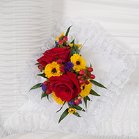 Tuscan Lid Piece #92316 Viviano Flower Shop funeral service floral arrangement for the casket