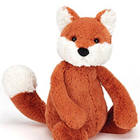 Bashful Fox Small #BASS6FXC Viviano